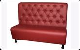 Upholstered furniture for restaurant, cafe or in
