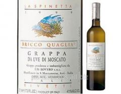 GRAPPA OF LA SPINETTA DI MOSCATO OF 0,5 L.