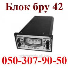 Block of manual control bru32 block to a br 42