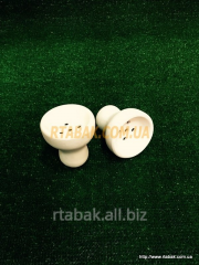 Bowl for a hookah from white clay