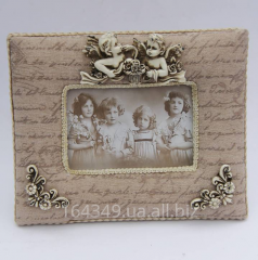 Frame for a photo horizontal fabric