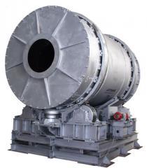 The korotkobarabanny rotor furnace, productivity