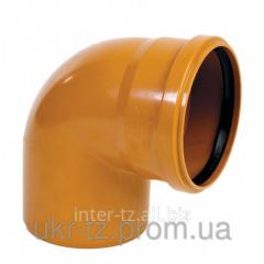 Corner 90 ° PVC of Du 100