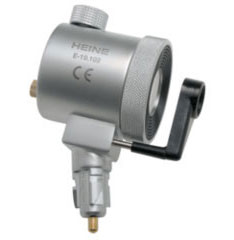 Lighting head for anoskopov/proktoskop