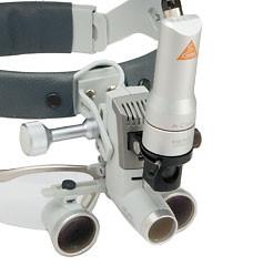 Налобный осветитель 3S LED Headlight с видеокамерой A-CAM