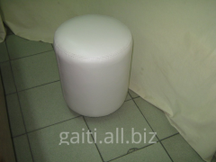 Padded stool the CYLINDER, a padded stool photo,