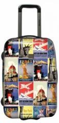Suitcase 2-wheeled SAXOLINE Doors (B11HC.49)