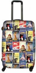Suitcase 4-wheeled SAXOLINE Fauvism (B11HC.71)