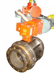The crane sharovy flange with the Ru16 Du200