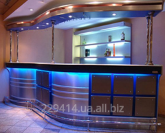 Bar counter for cafe, restaurants, night clubs
