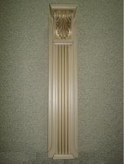 Pilaster about a decor an elemen