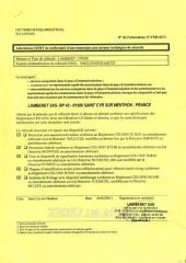 Certificate of ESMT, green certificate