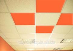 Инфракрасная метало-керамическая потолочная панель