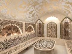 Construction of hamam in Ukraine