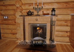 Fireplaces for a bath
