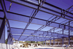 Metalwork is frame and awning, Hardware of