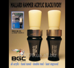 Decoy on a duck of Buck Gardner Mallard Hammer Acrylic Duck Call