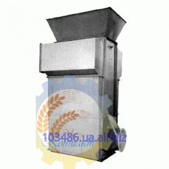 Cooler of granules (pellet)