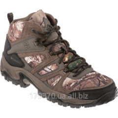 Boots for hunting and fishing of Columbia Men's Woodburn Mid Hiking boots