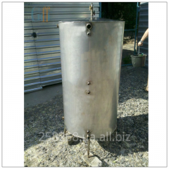 The heataccumulator from a stainless steel of 500
