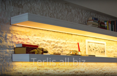 Polk Steklyannaya With LED Illumination