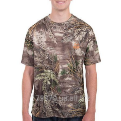 Футболка охотничья Realtree and Mossy Oak Men's Performance Camo Tee