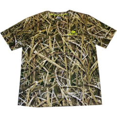 T-shirt hunting Mossy Oak Blades Men's Olive Short Sleeve Tee