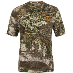 T-shirt hunting Realtree MAX 1 Men's Olive Short Sleeve Tee