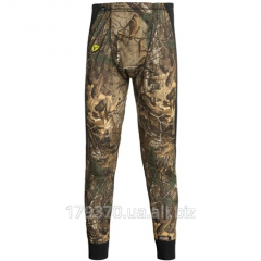 Термокальсоны охотничьи ScentBlocker 8th Layer Camo Base Layer Bottoms