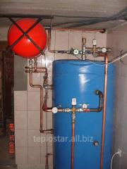 The thermal BAHT accumulator - 800, heating