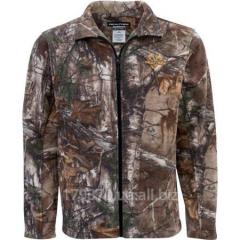 Куртка охотничья флисовая Realtree Microfleece Camo Jacket