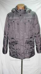 Down-padded coat of man's CITI KLASSIK model