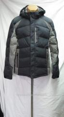 Down-padded coat of man's SOOYUT model 1238