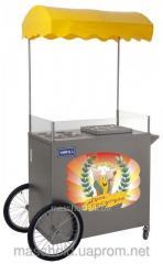 Cart kukuruzovarka of Ky-V of shopping Mall Inox