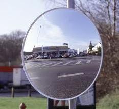 Mirrors road round 60 cm, 90 cm, mirrors road
