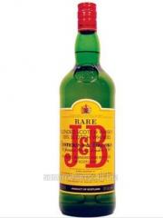 J&B Rare whisky of 1,0 l.