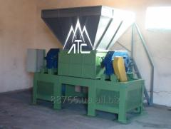 The equipment for crushing plastic