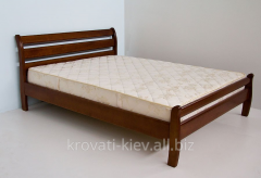 "Double wooden bed ""Olga"" in Zaporizhia"