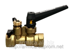 Balancing BROEN Ballorex-S valve, manual, carving
