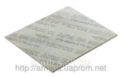 Bezasbestovy sealing material Viktor Reinz AFM 34