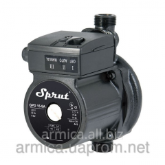 The pump increasing pressure of Sprut GPD 15-12A
