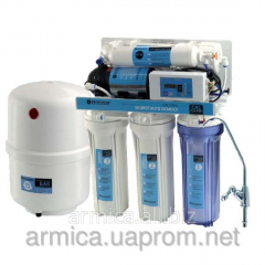 System of the return osmosis pump plus equipment