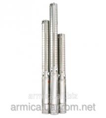 Borehole pump + equipment 4SP209-0.37 + panel