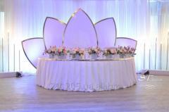 Оформление свадьбы. Украшение свадьбы. Декор