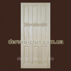 Doors from panels