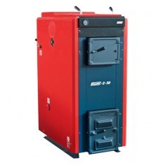 Copper on firewood of Kalvis 2-30... 30 kW, solid