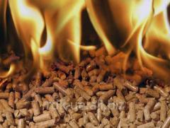 Granule from wood