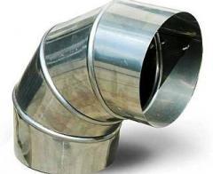Круглый отвод 90 градусов 200 мм
