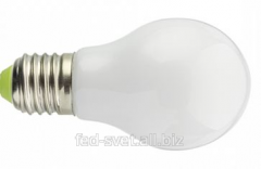 Lamp of LED Classic E27 5W opaque Bellson