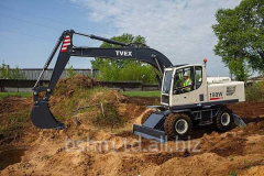 Excavator wheel Terex and RM-Terex.